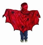 Spider cape with hood