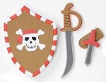 Pirate Shield Set