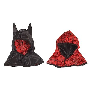 Reversible Spider/ Bat Hood