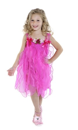 Sugarplum Fairy Dress Hot Pink