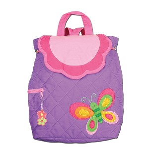 Quilted Backpack Butterfly