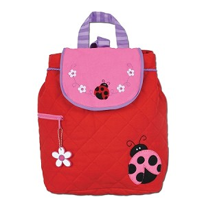 Quilted Backpack Ladybug