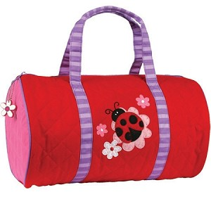 Quilted Duffle Bag Ladybug