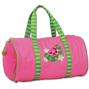 Quilted Duffle Bag Watermelon
