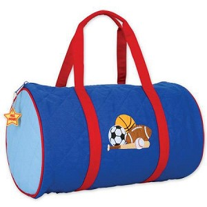 Quilted Duffle Bag Sports