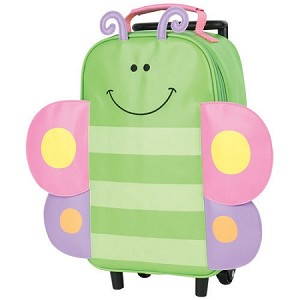 Rolling Backpack Butterfly