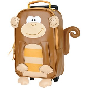 Rolling Backpack Monkey