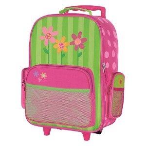 Rolling Luggage Flower