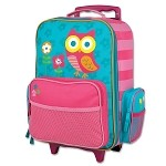 Rolling Luggage Owl