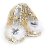 Princess Slippers Gold