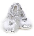 Princess Slippers Silver